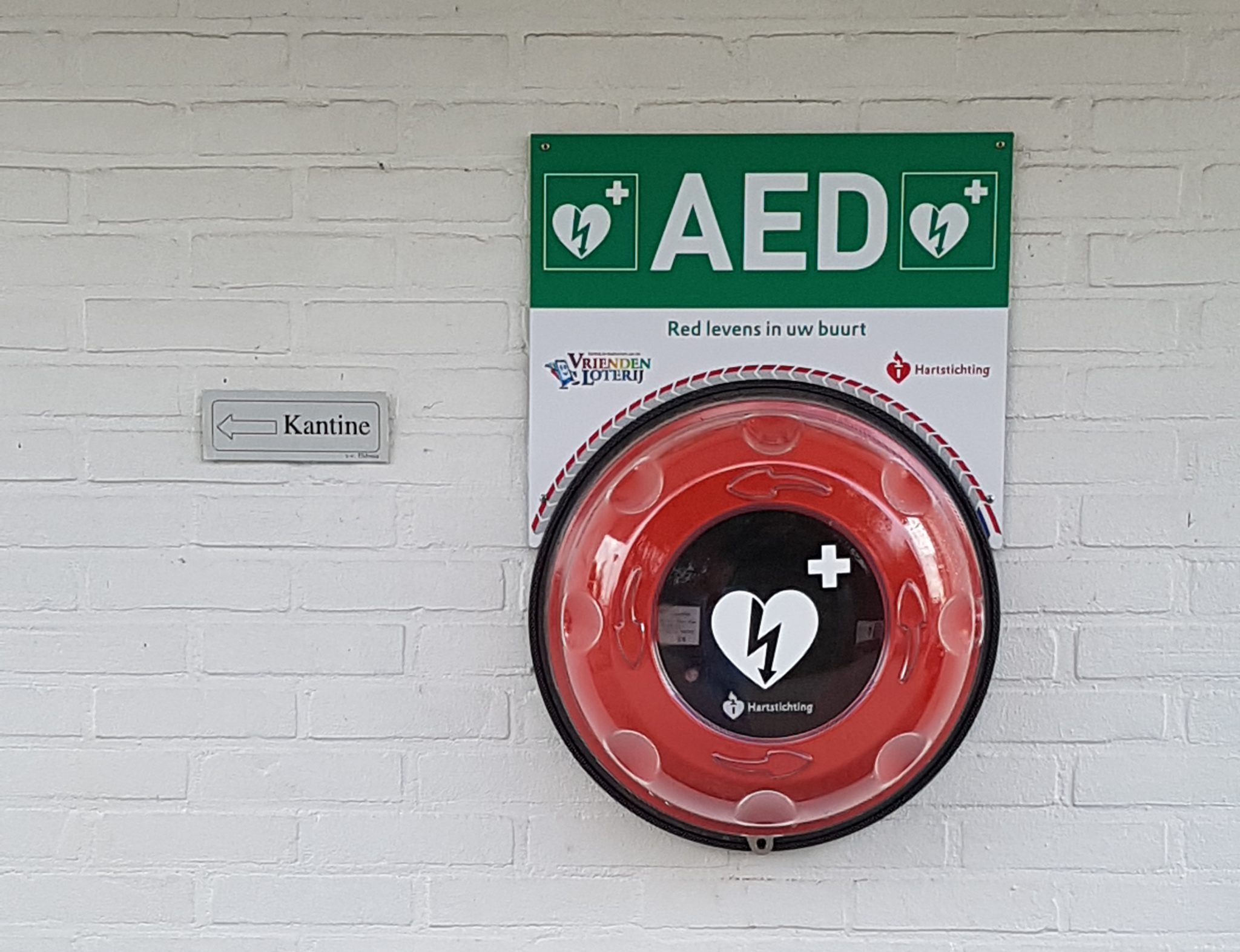AED bij vv Eldenia