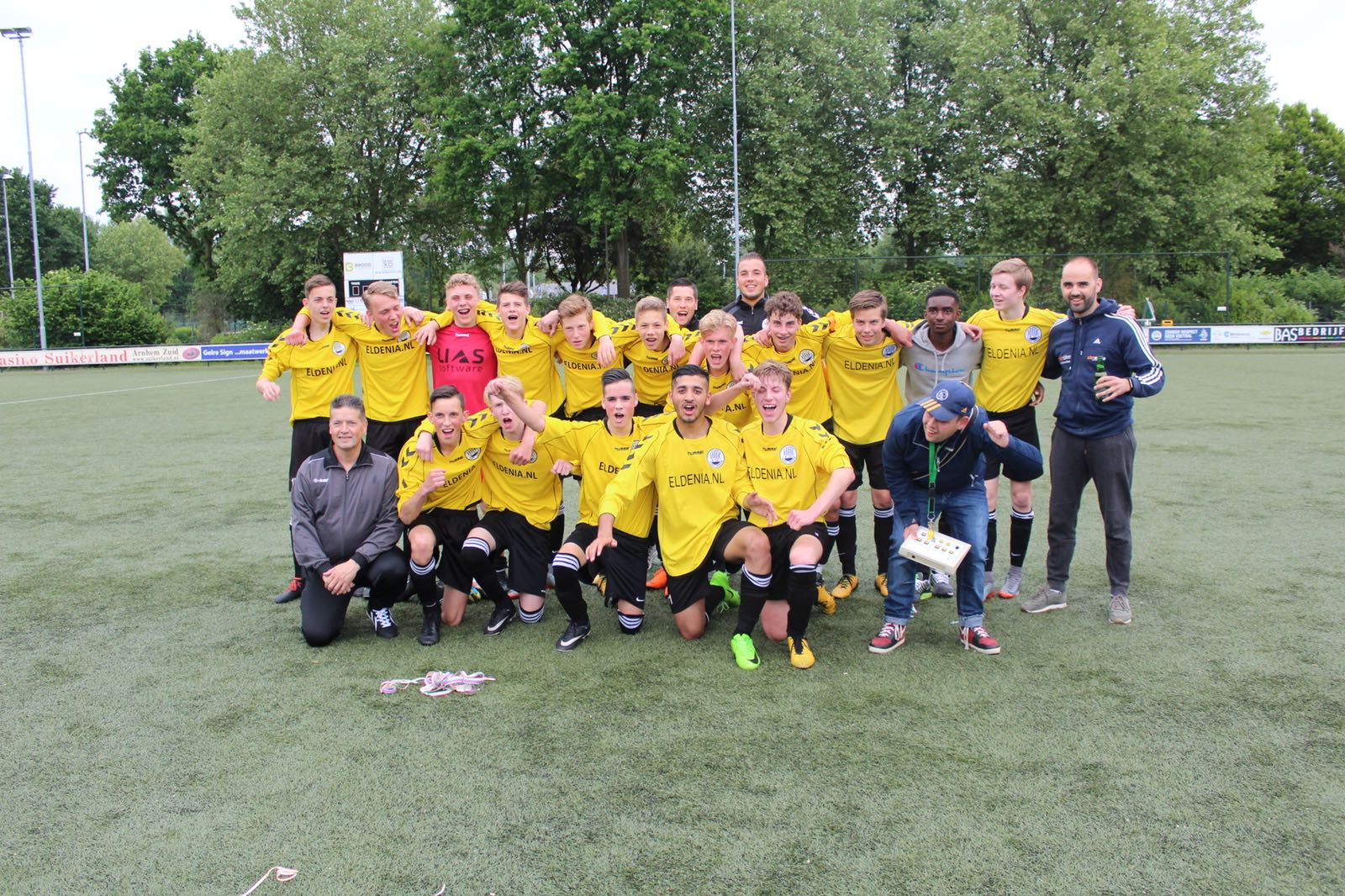 Eldenia JO17-1 kampioen!