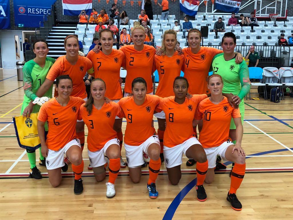 kwalificatie EK zaalvoetbal met Jantien