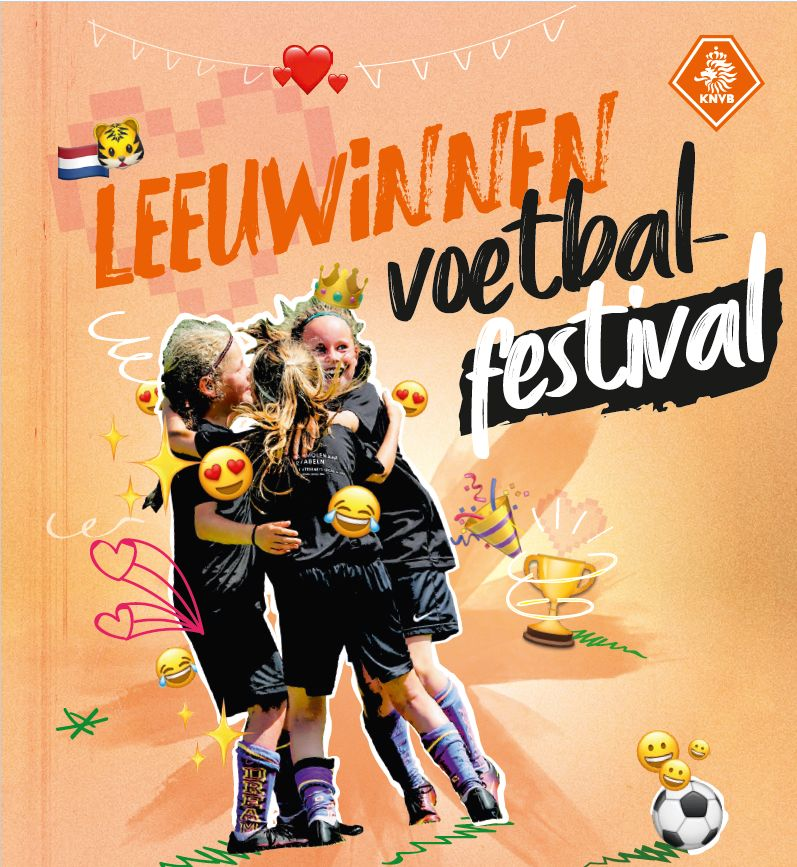 KNVB Leeuwinnen voetbalfestival bij Eldenia
