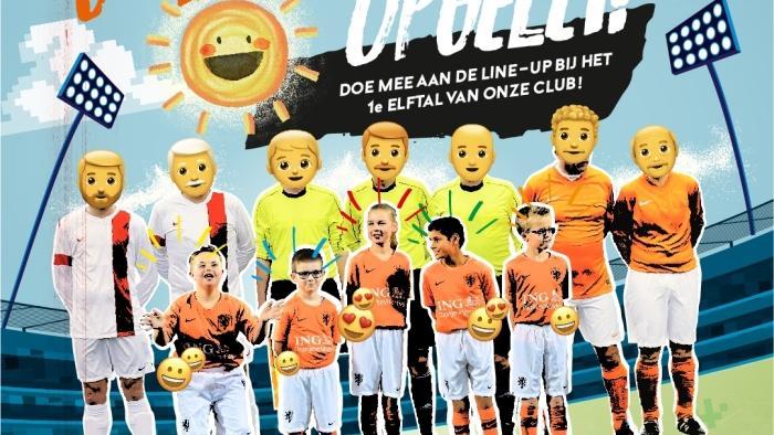 Unieke G-voetbal line-up bij Eldenia