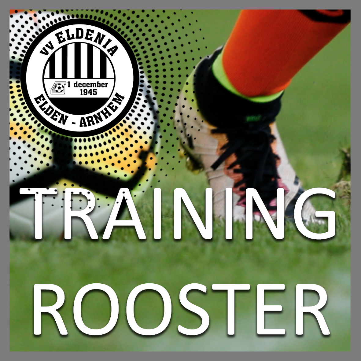 Trainingsrooster 2021-2022