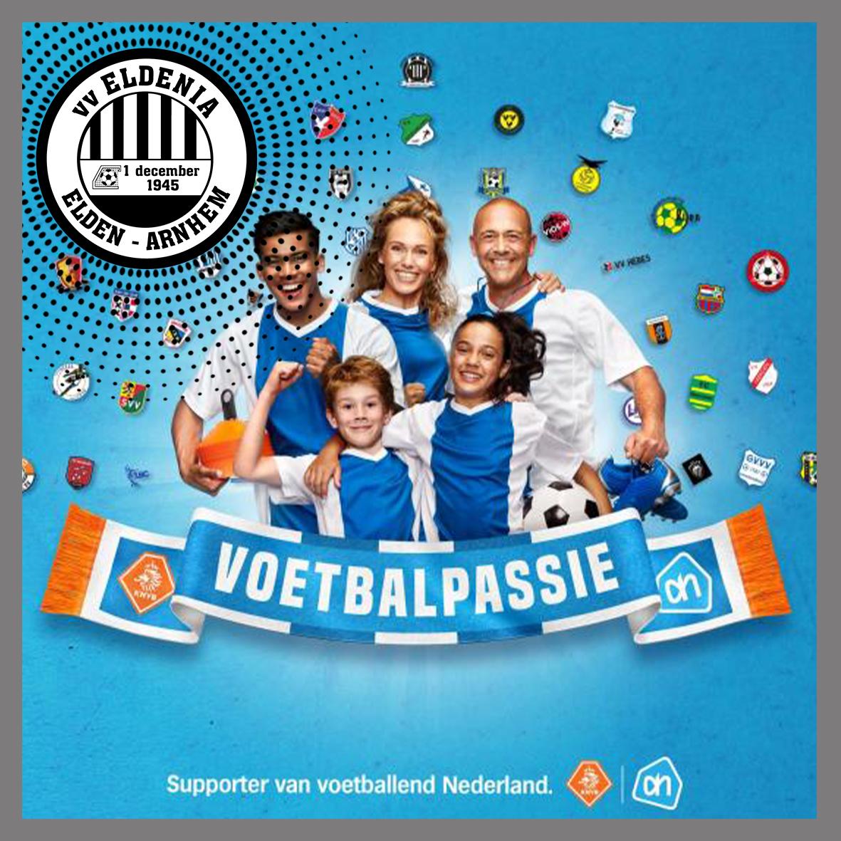 Voetbalpassie: sparen bij Albert Heijn